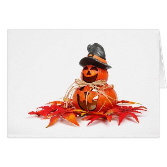 Halloween 5 card