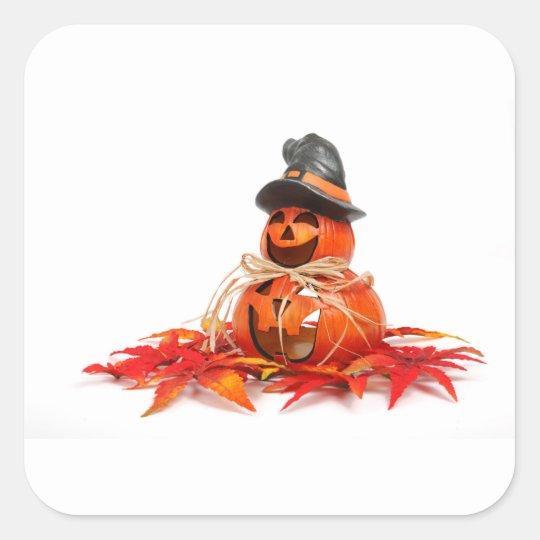 Halloween 5 square sticker