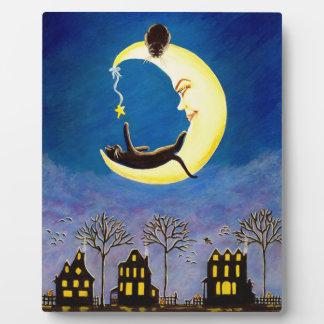 "Halloween 8 x 10 easel backed art ""Salem's Star"" Plaque"