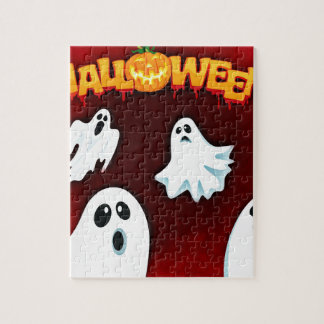 halloween-994-ghost puzzle