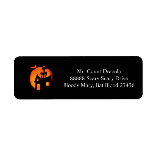 Halloween Address labels 1 2016