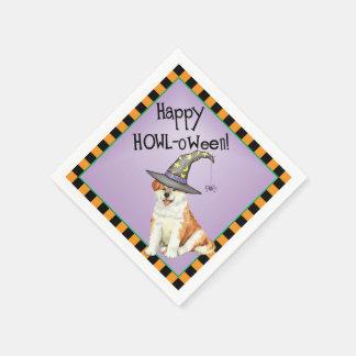 Halloween Akita Disposable Napkin