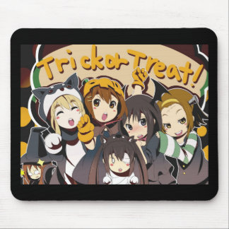 Halloween Anime Trick or Treat Mouse Pad