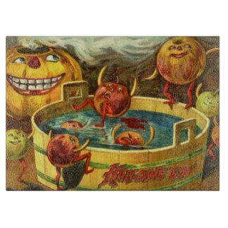 Halloween Apple Bobbing Cutting Board