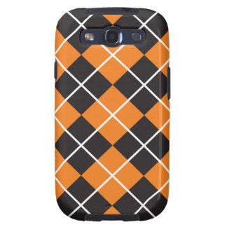 Halloween Argyle Samsung Galaxy SIII Case