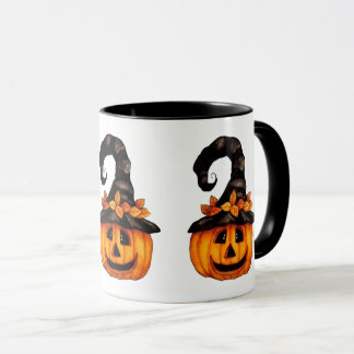Halloween/Autumn Jack-o-Lantern Mug