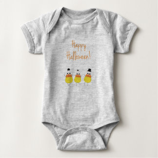 Halloween Baby Clothing with Candy Corn Baby Bodysuit