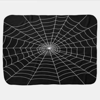 Halloween Baby in a Web Baby Blanket