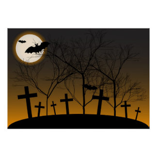 Halloween Background Poster