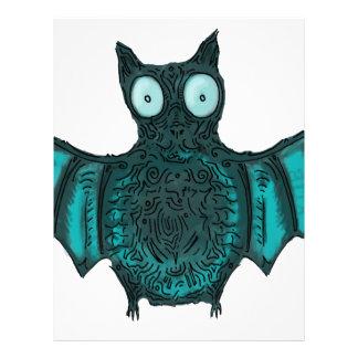 Halloween Bat Letterhead