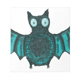 Halloween Bat Notepad