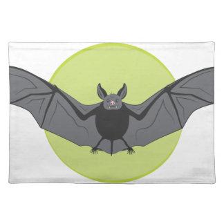 Halloween Bat Place Mats
