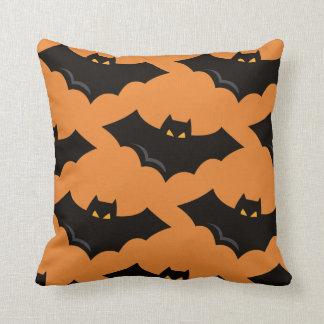Halloween Bat Throw pillow