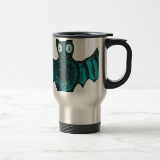 Halloween Bat Travel Mug