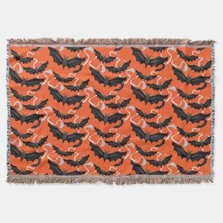 Halloween Bats Blanket