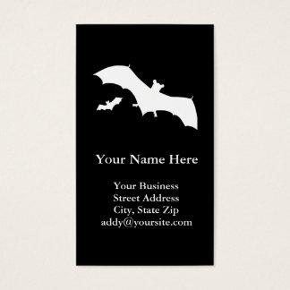 Halloween Bats Business Card