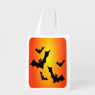 Halloween Bats Reusable Trick or Treat Bag