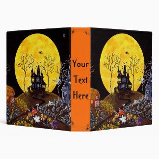 Halloween binder for photos,favorite recipes etc