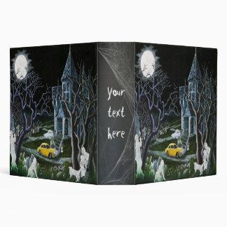 Halloween binder for your recipes, photos etc