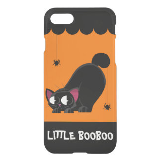 Halloween Black Cat and Spider iPhone 8/7 Case