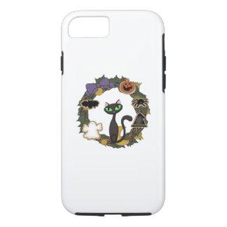Halloween Black Cat iPhone 8/7 Case