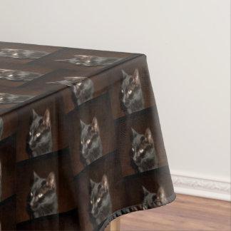 HALLOWEEN BLACK CAT tablecloth