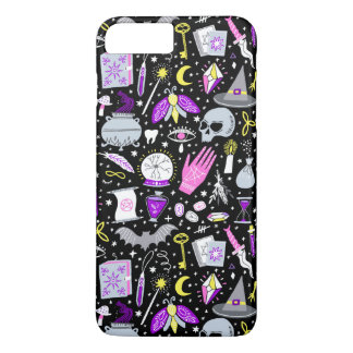 Halloween Black Magic iPhone case