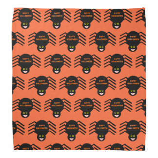 Halloween Black Spider Bandana