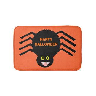 Halloween Black Spider Bath Mat