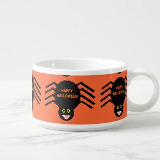Halloween Black Spider Chili Bowl