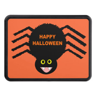 Halloween Black Spider Hitch Cover