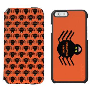 Halloween Black Spider Phone Wallet Case Incipio Watson™ iPhone 6 Wallet Case