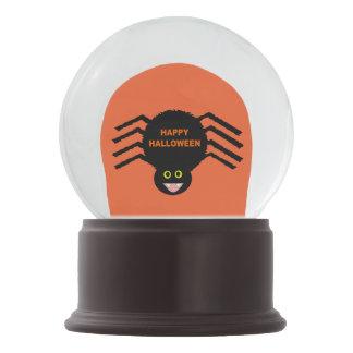 Halloween Black Spider Snow Globe