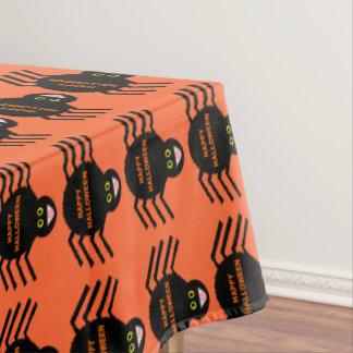 Halloween Black Spider Tablecloth