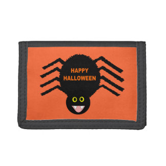 Halloween Black Spider Wallet