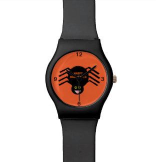Halloween Black Spider Watch