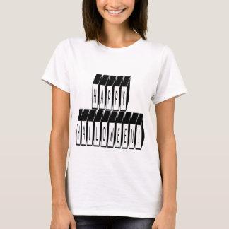 Halloween Block Text T-Shirt