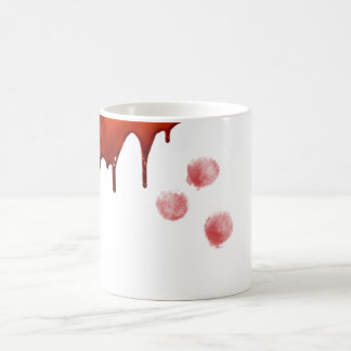 halloween blood mug