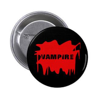 Halloween Blood Splat - Change Text! 2 Inch Round Button