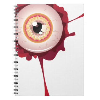 Halloween Bloody Eyeball2 Note Book