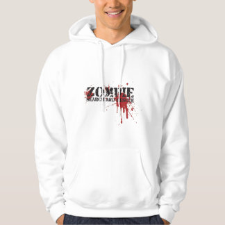 Halloween Bloody Zombie Search and Rescue Hoodie