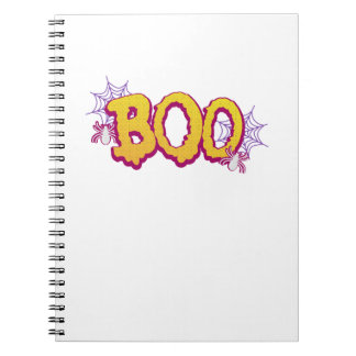 Halloween BOO And Spiders 2017 Funnys Cute Gifts Notebook
