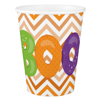 Halloween Boo Paper Cup