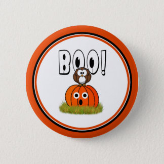 Halloween BOO to You, Too! 2 Inch Round Button