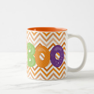 Halloween Boo Two-Tone Coffee Mug