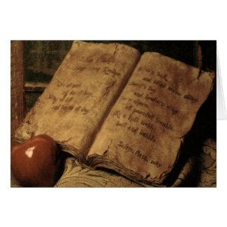 Halloween Book of Potions ~ Card