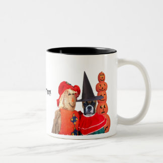 Halloween boxer mug