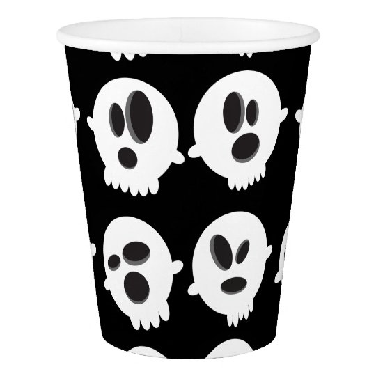 Halloween Bubble's of Ghost Paper Cup