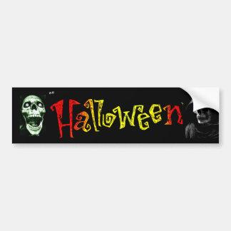 Halloween Bumpersticker Bumper Sticker