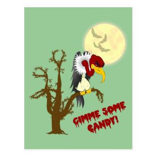 Halloween Buzzard Recipe Card